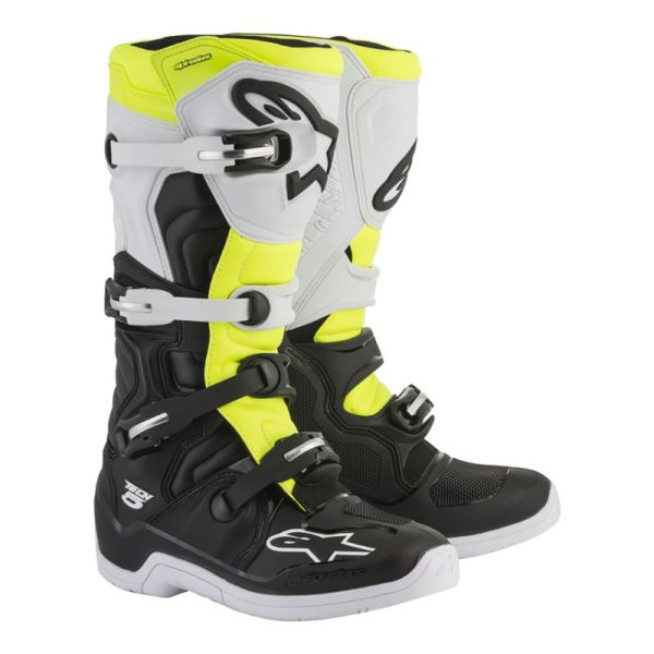 TECH 5 BOOT Black HiVis Yellow