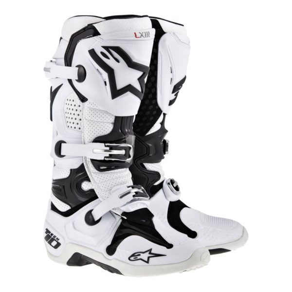 Tech 10 Boot White