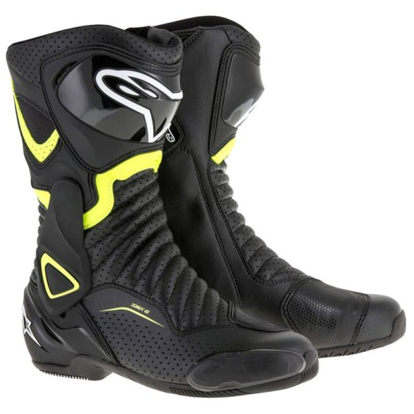 SMX-6 V2 BOOT Black Yellow