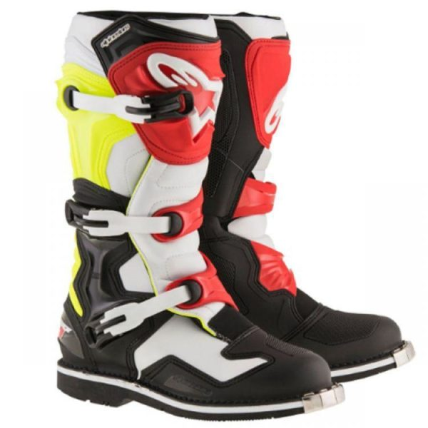 TECH 1 BOOT Black Red Yellow